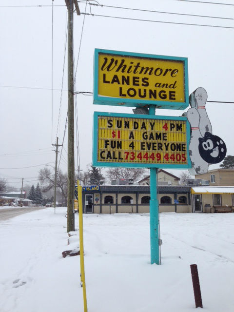 MICHIGAN: THE SIGNS OF WHITMORE LAKE