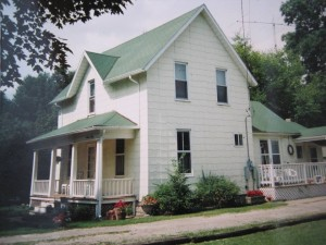 The author's childhood home in Port Huron.