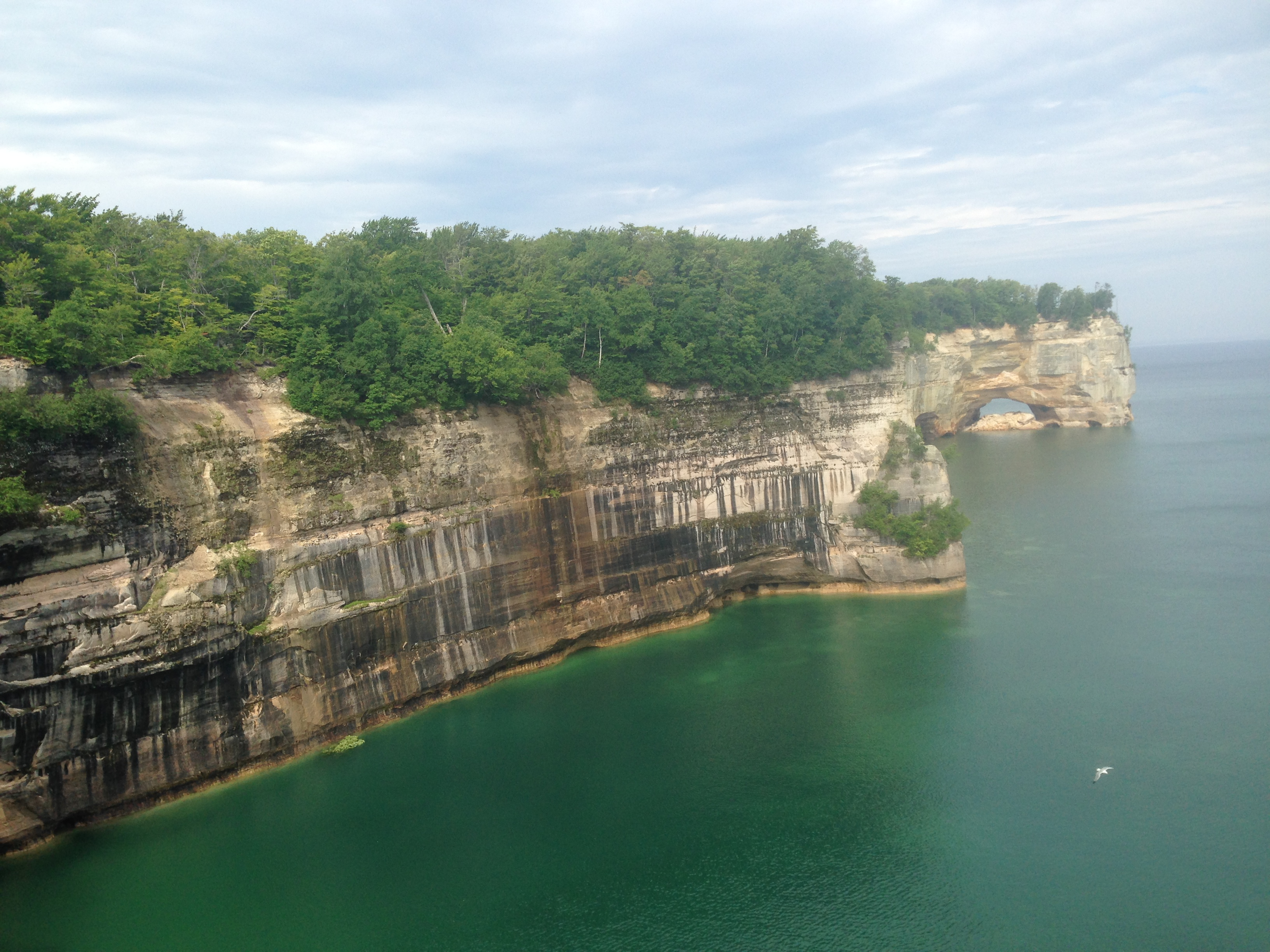 Pictured Rocks, Upper Peninsula, Michigan: On The Trail And Near The Edge