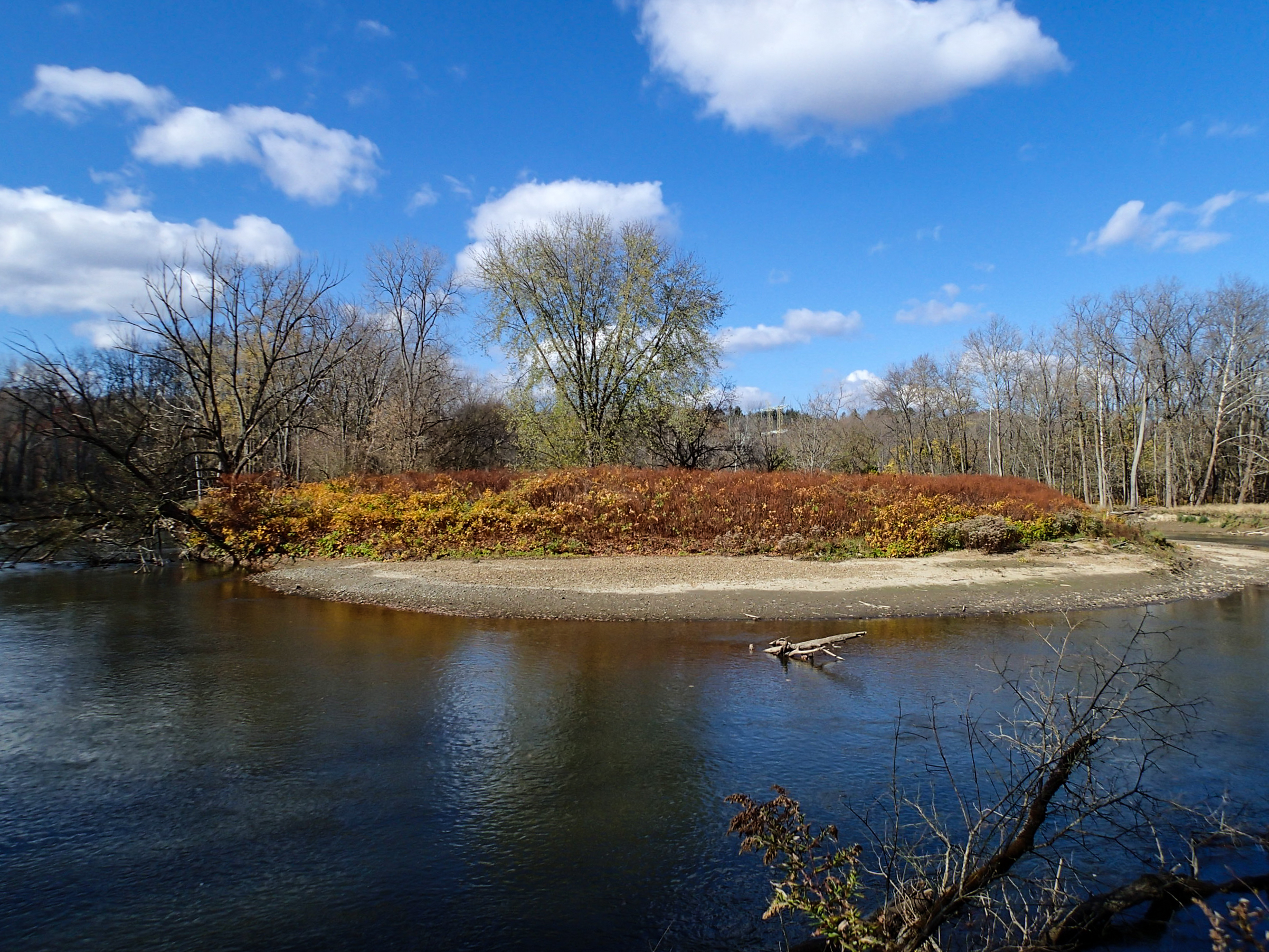 Cuyahoga Valley National Park, Ohio: On a bend in the Cuyahoga River near Red Lock