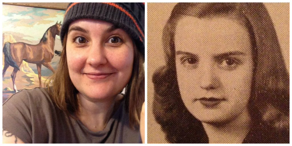 GLR Managing Editor Meredith Counts (left) and deceased housekeeper, grandmother Marilyn Grahl (right).
