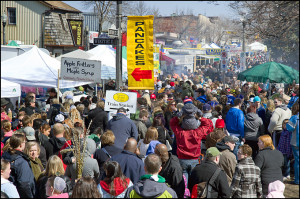 Photographer Jerry Manco captured this shot at the Maple Syrup Festival.