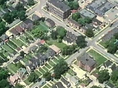 Garden City, Michigan: Corner of Maplewood and Hartel