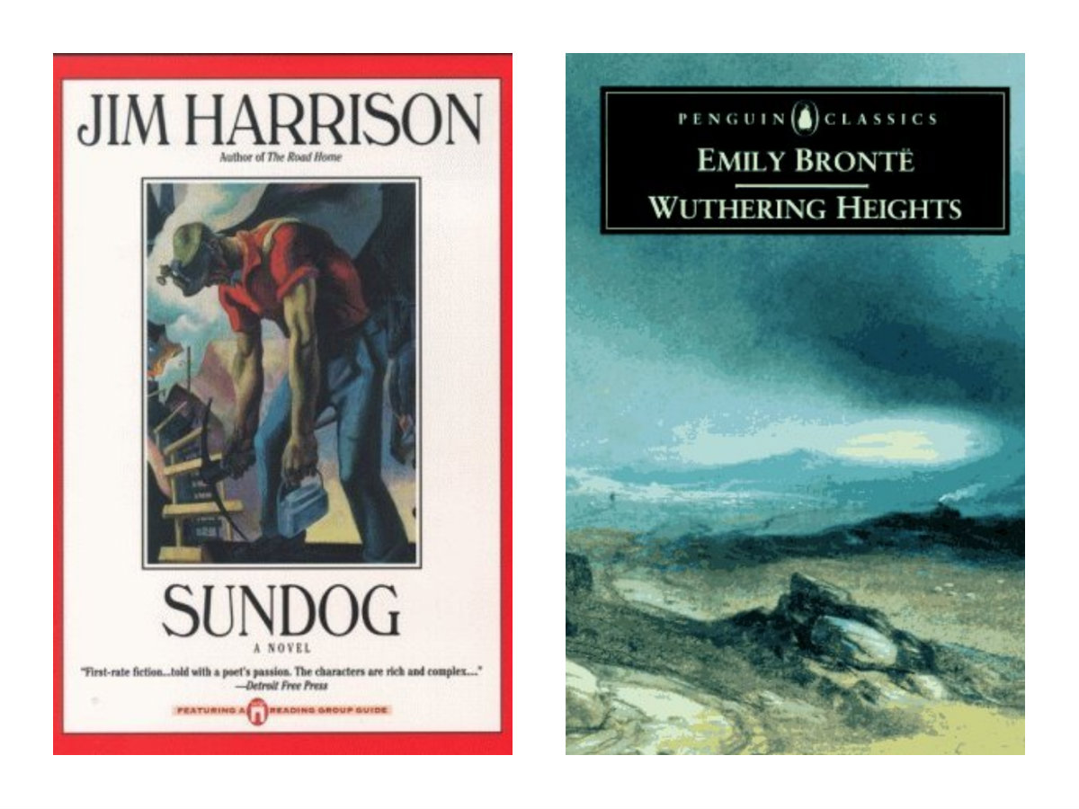 Life is Unbearably Vivid: An Essay on Sundog by Jim Harrison and Wuthering Heights by Emily Bronte